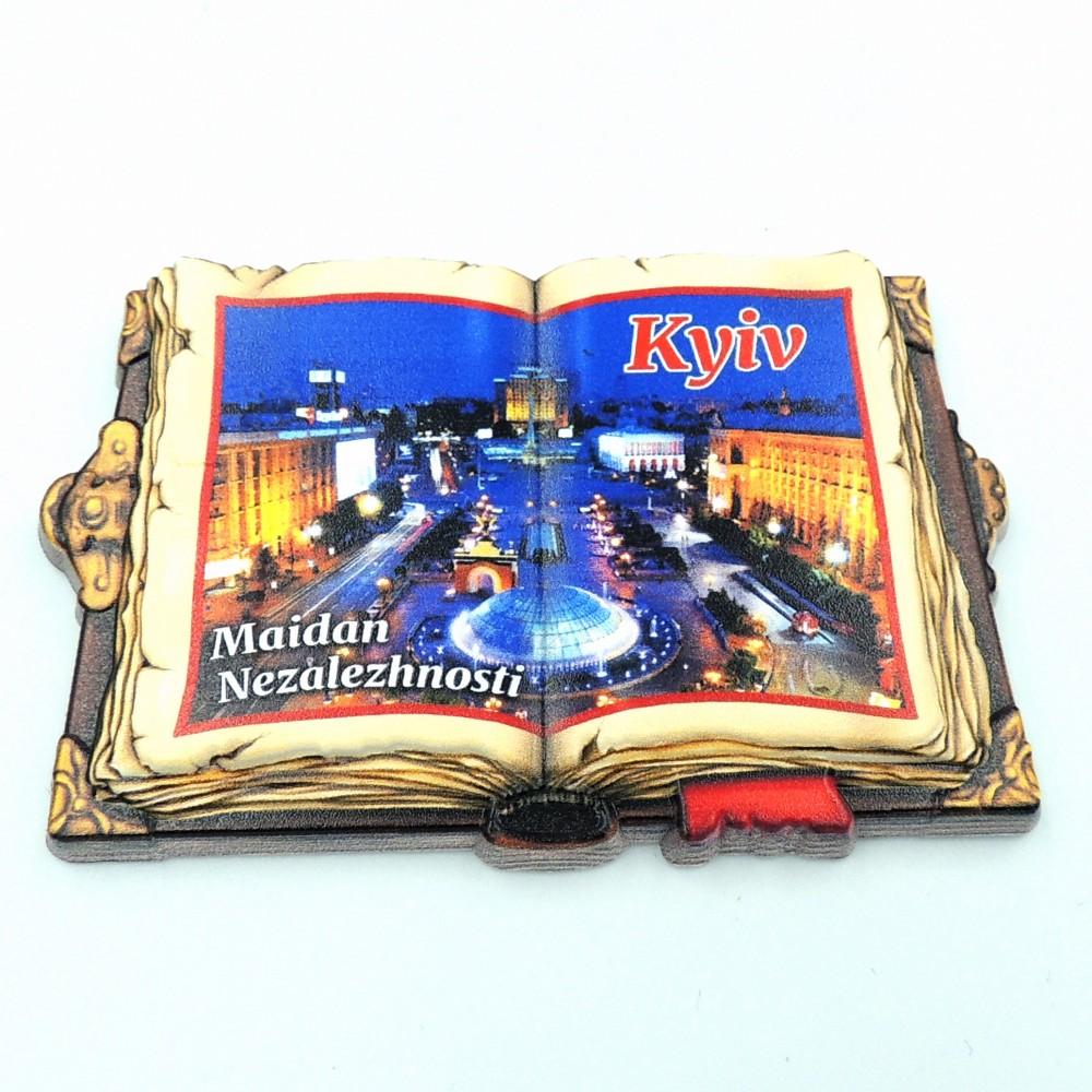Керамический магнит Книга Киев
