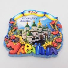 Керамический магнит Украина Церковь Святой Софии