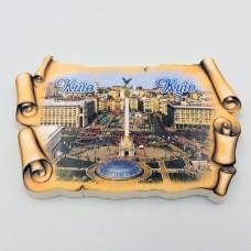Керамический магнит Свиток древний Киев