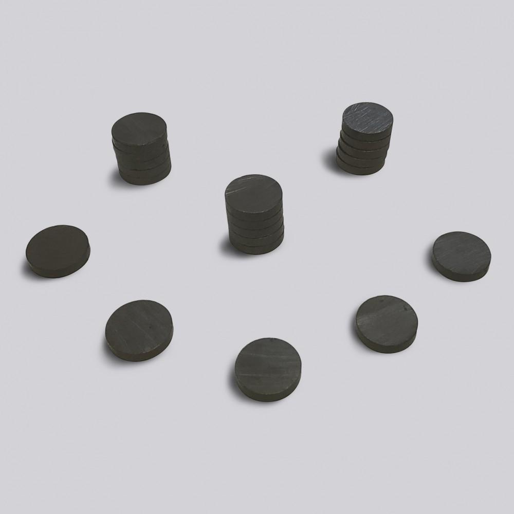 Круглый ферритовый магнит 15 мм