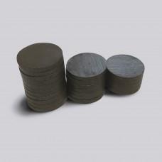 Круглий феритовий магніт 25 мм