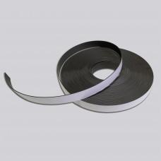 Магнітна стрічка 25,4*1,5мм рулон 30,5м, з клеєм, Тип В