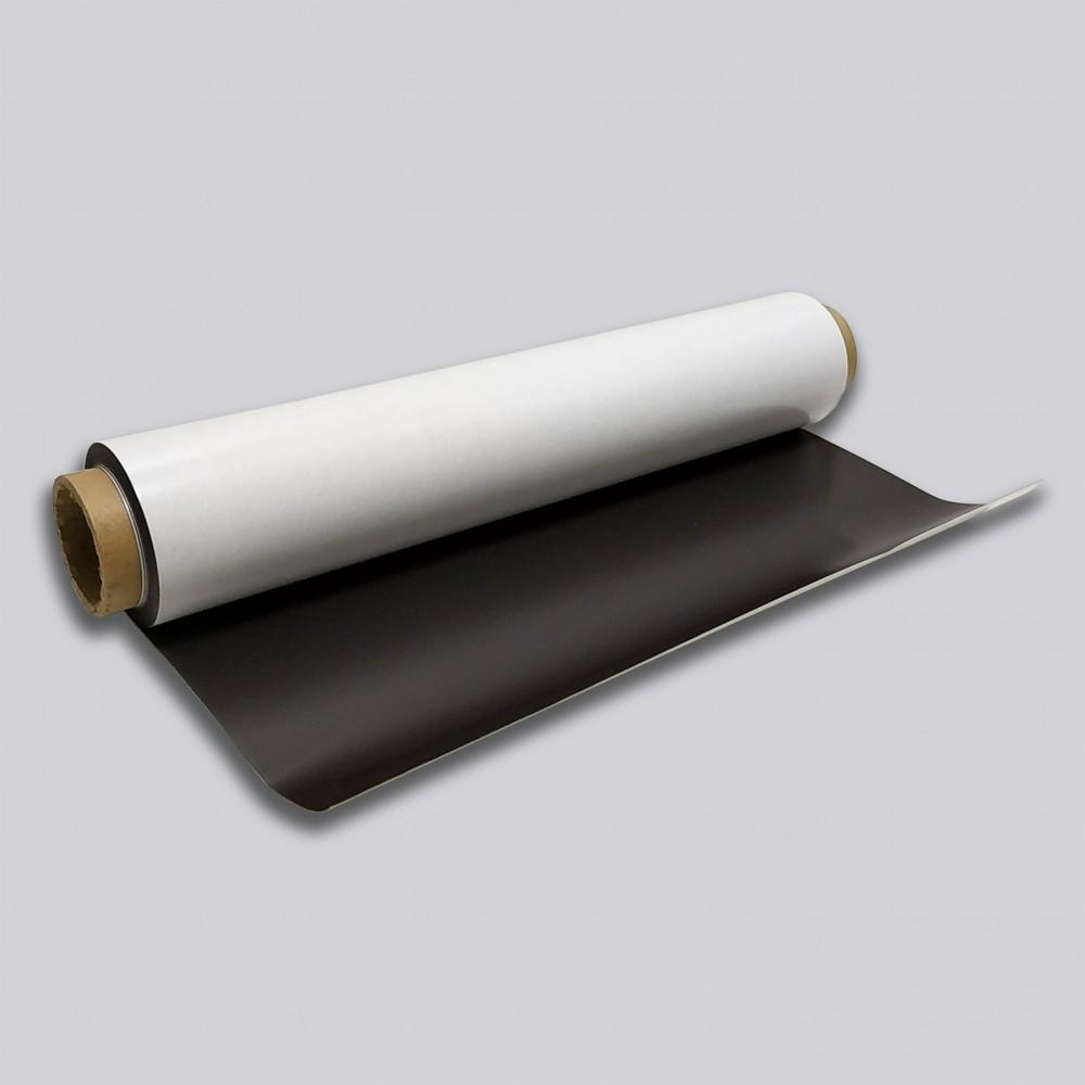 Магнитный винил с клеевым слоем погонный метр, 0,4 мм
