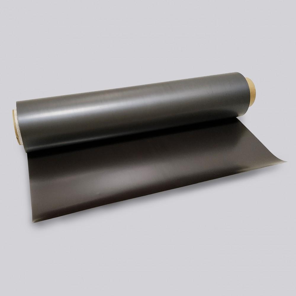 Магнитный винил без покрытия в рулоне, 0,4 мм
