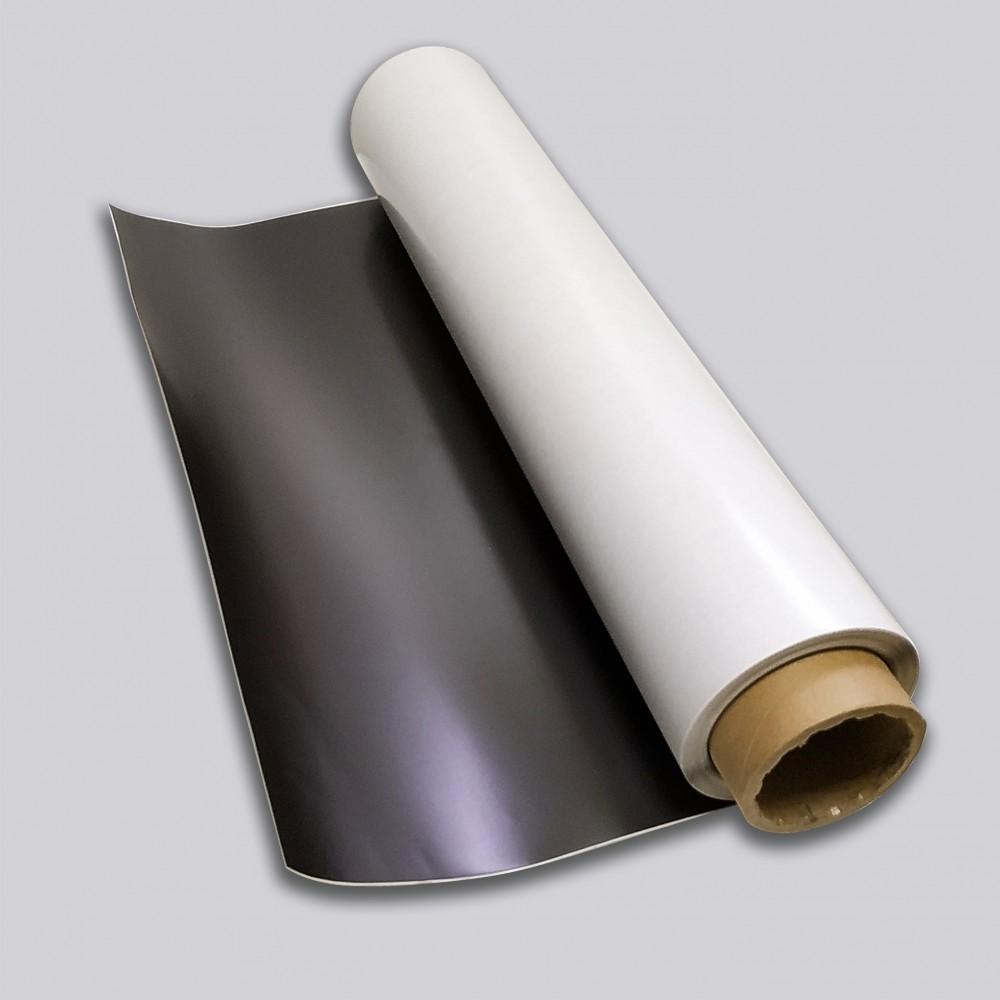 Магнитный винил с клеевым слоем рулон, 0,4 мм