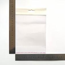 Пакет поліпропіленовий 130*130 мм з єврослотом