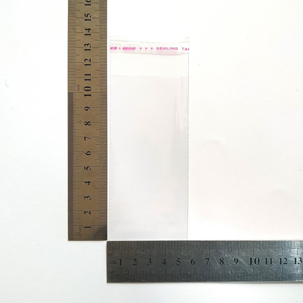 Пакет поліпропіленовий 53*110 мм з клейовою стрічкою