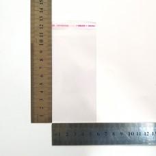 Пакет поліпропіленовий 56*110 мм з клейовою стрічкою