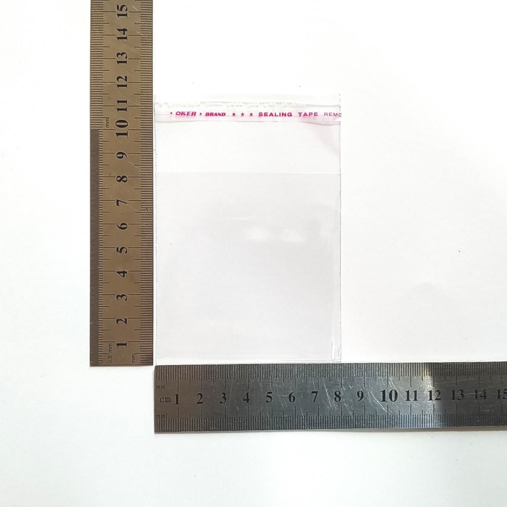 Пакет поліпропіленовий 80*80 мм з клейовою стрічкою