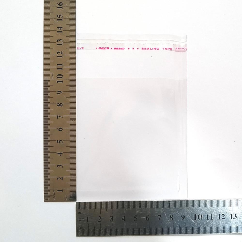 Пакет поліпропіленовий 90*100 мм з клейовою стрічкою