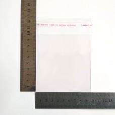 Пакет поліпропіленовий 95*100 мм з клейовою стрічкою