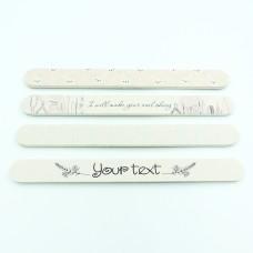 Пилка для нігтів з на пінній основі 180/240 на замовлення