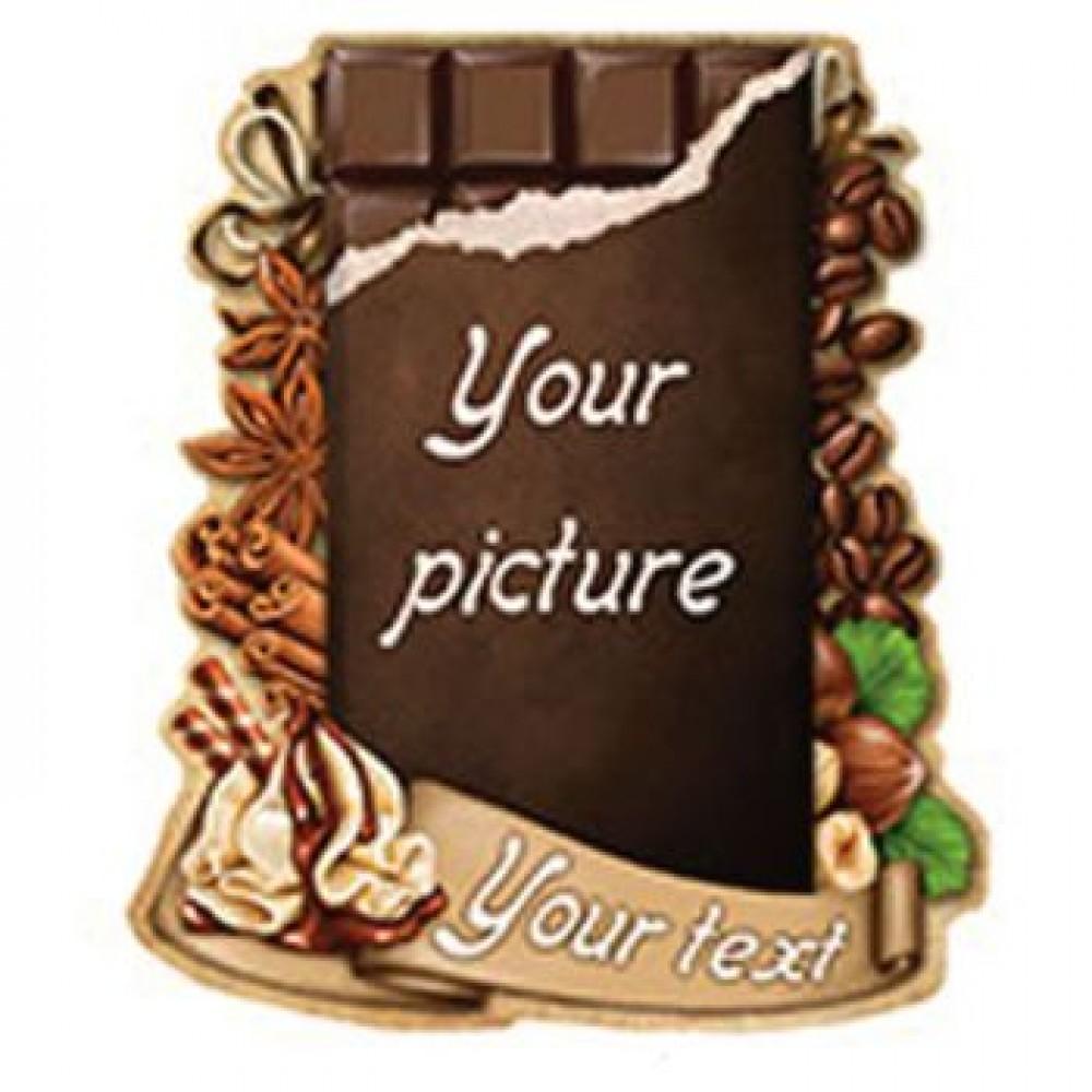 Керамическая заготовка для магнита - Шоколадка