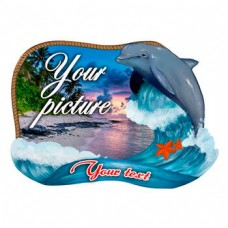 Керамічна заготовка для магніта - Рамка з дельфіном
