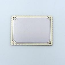 Магнит прямой печати - Рамка фигурная