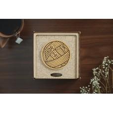 Незвичайний дизайнерський сімейний пазл для дорослих з дерева Чернігів в подарунковій коробці