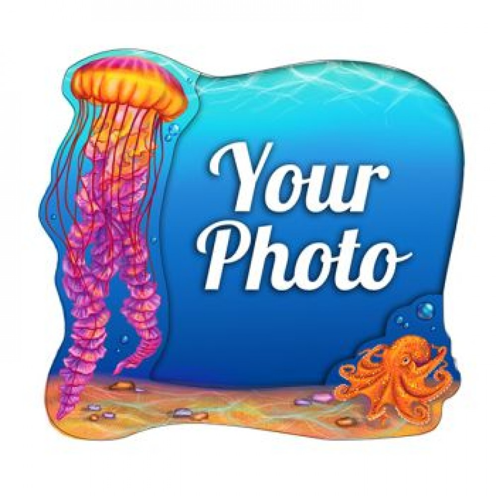 Слойка деревянная Медуза магнит