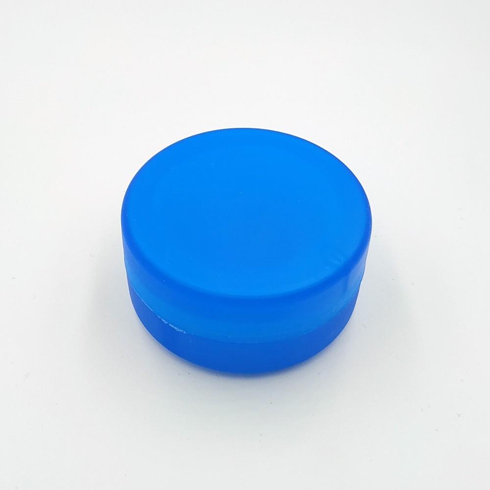 Складной стаканчик голубого цвета без изображения 130 мл