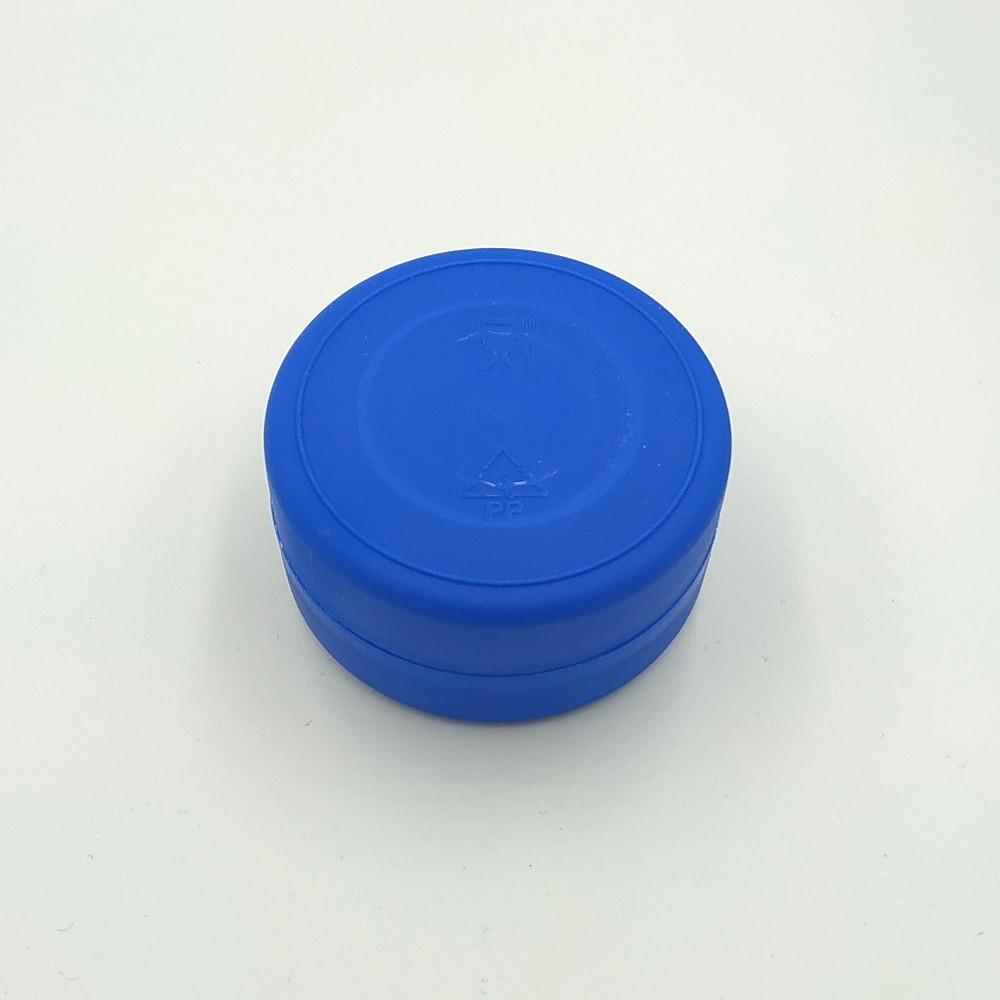 Складений стаканчик синього кольору без зображення 130 мл
