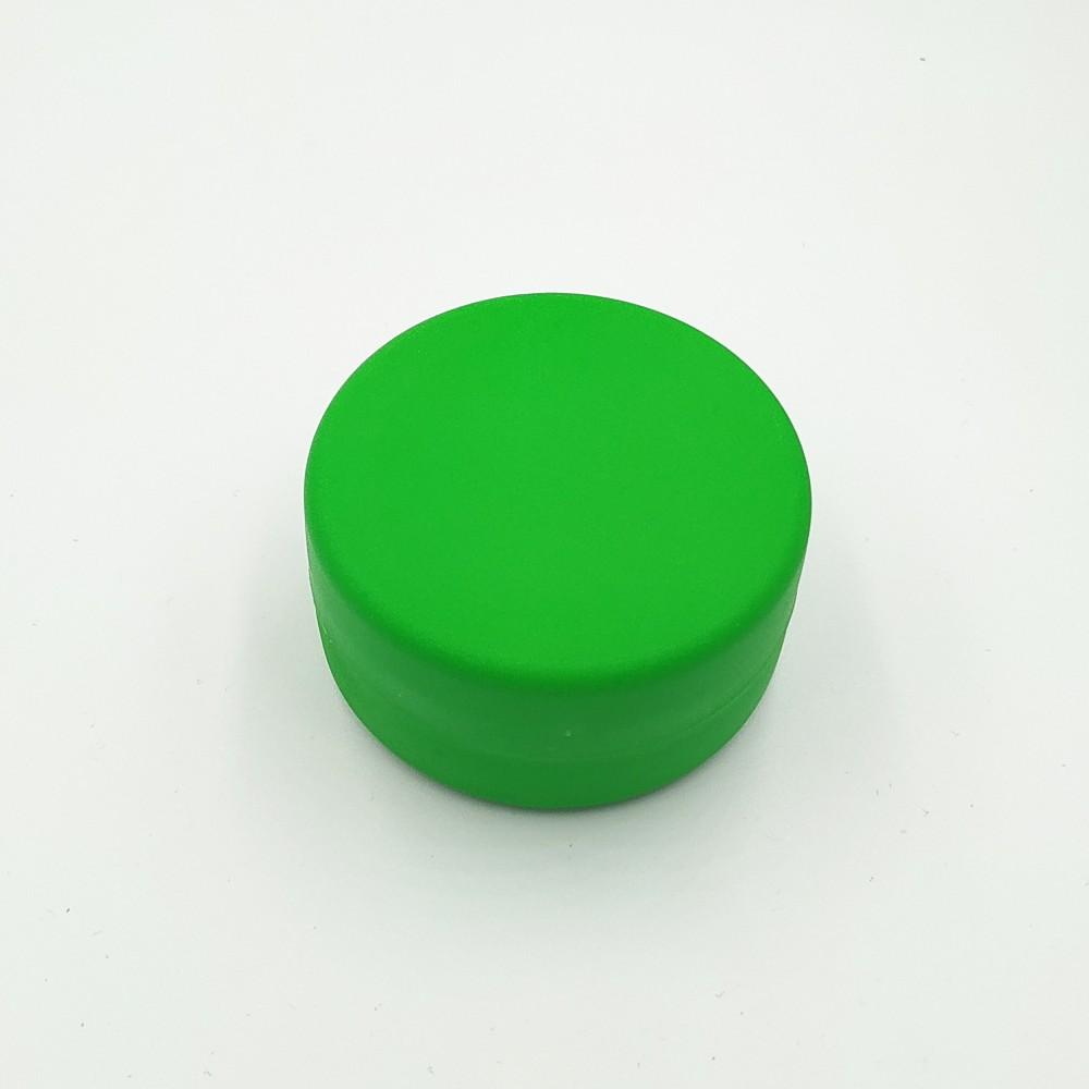 Складной стаканчик зелёного цвета без изображения 130 мл