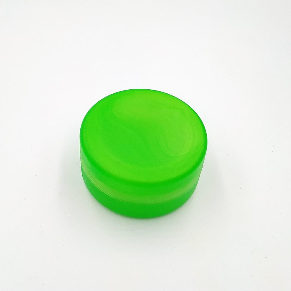 Складений стаканчик салатового кольору без зображення 130 мл
