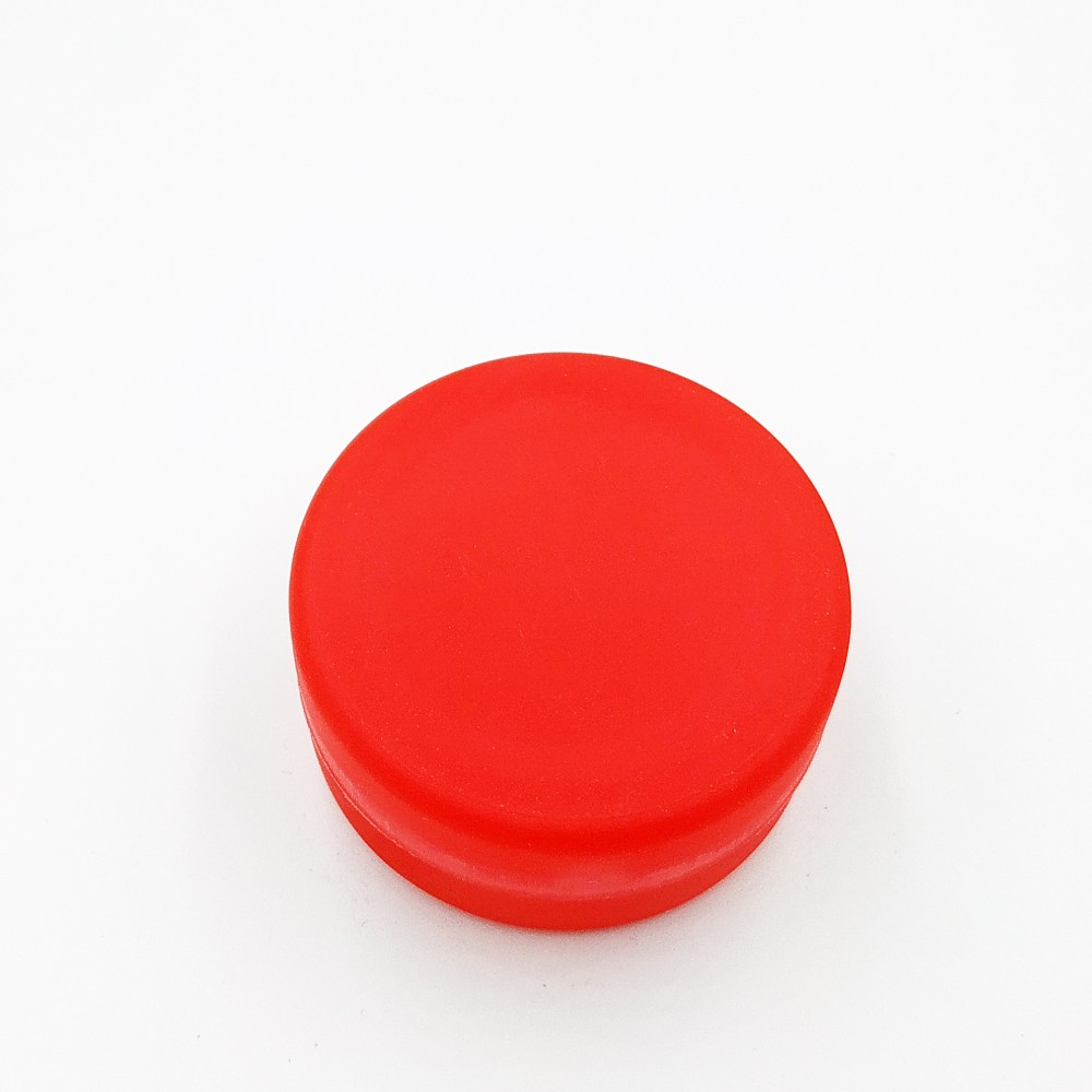 Складений стаканчик червоного кольору без зображення 130 мл