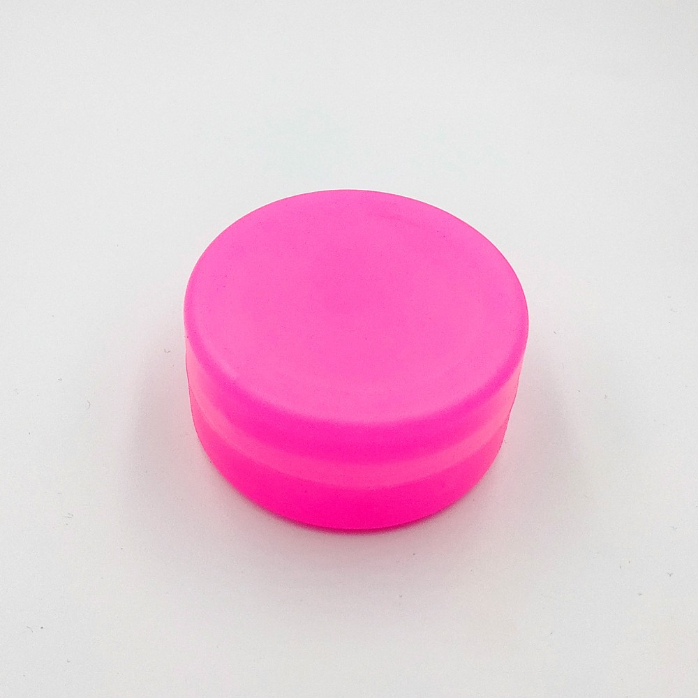 Складной стаканчик розового цвета без изображения 130 мл