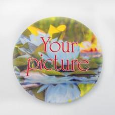 Сувенирная тарелка 62 мм с магнитом