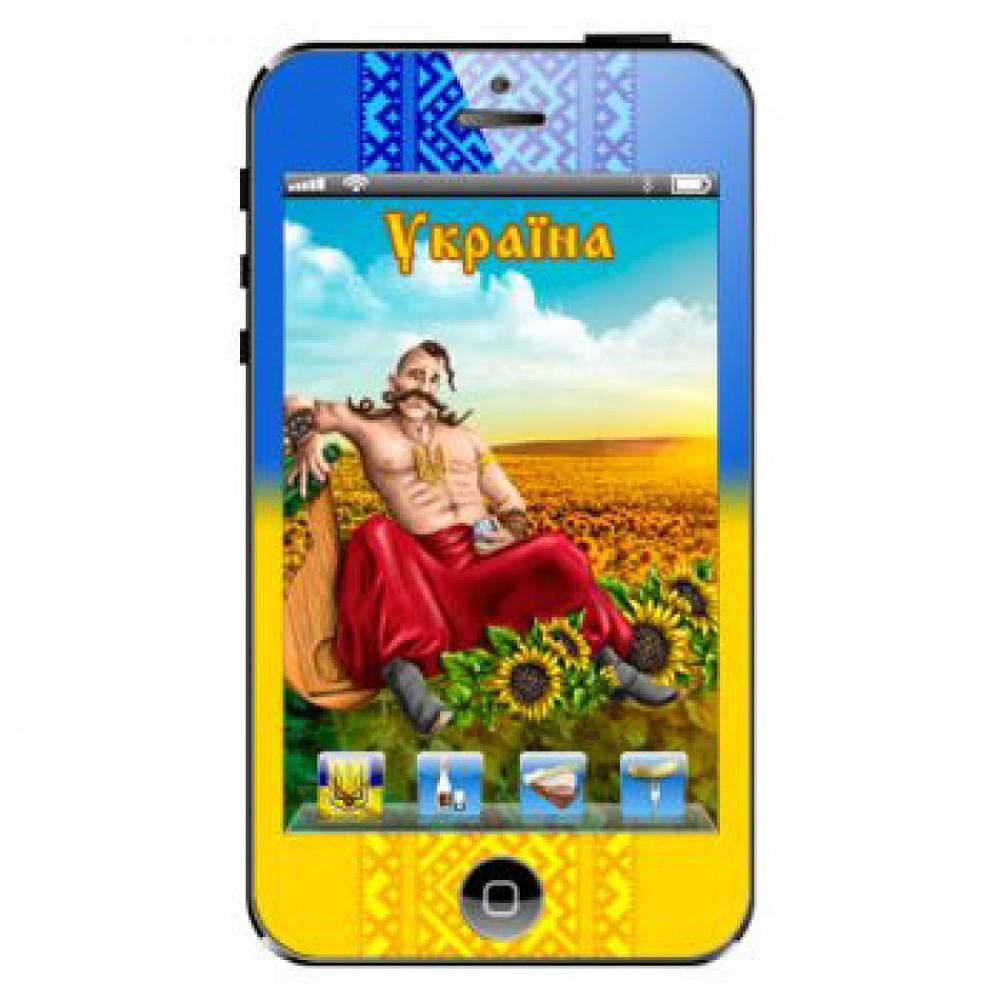 Магниты керамические. Iphone. Украина. Казак