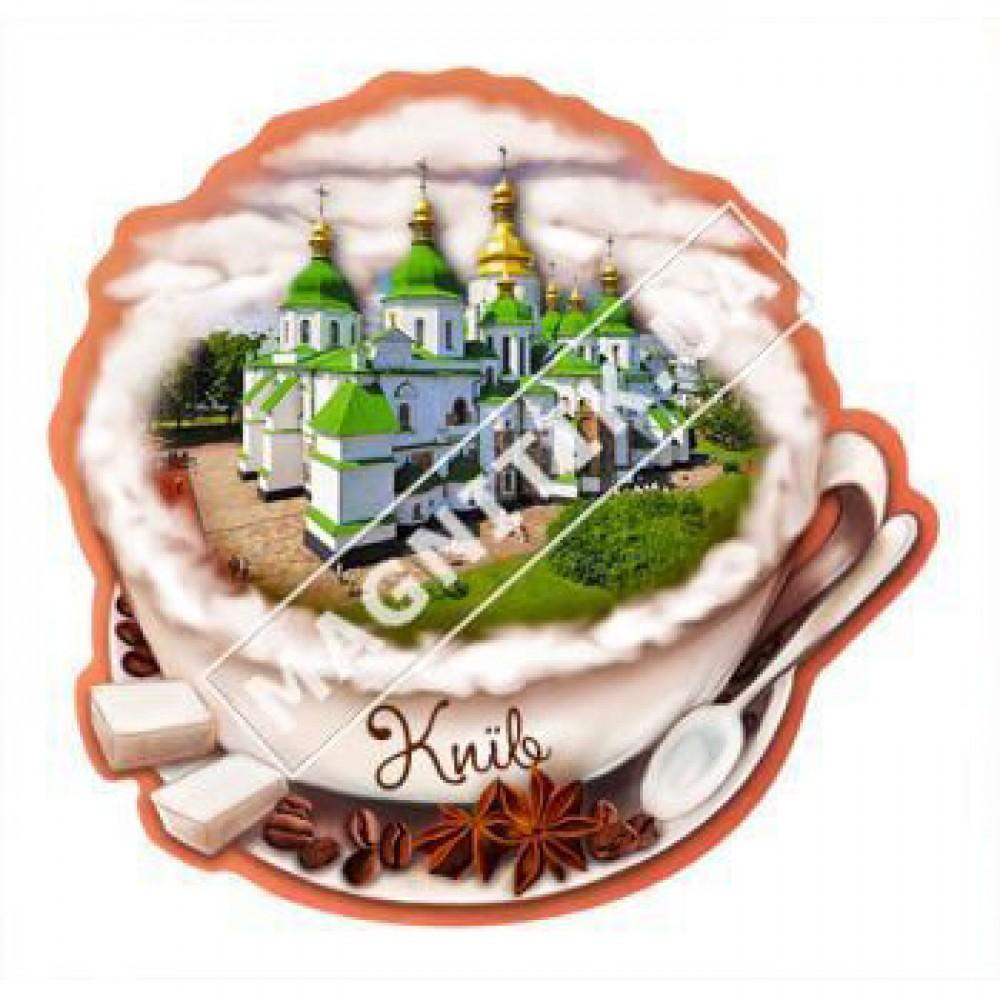 Керамічні магніти. Чашка кави, Київ
