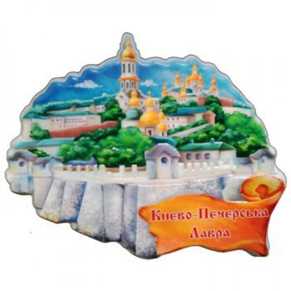 Магніт з кераміки з Києво-Печерською лаврою