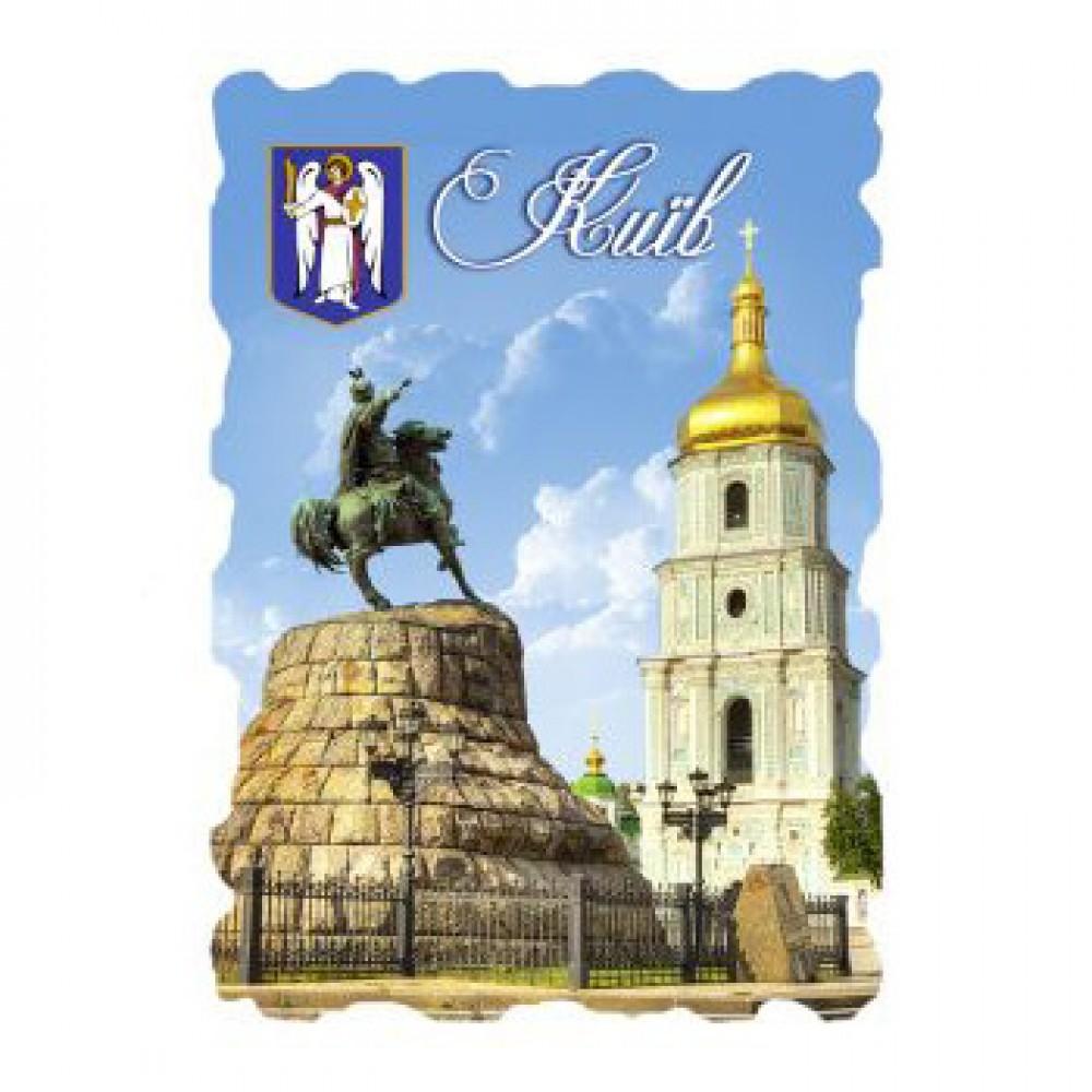 Керамические магниты. Киев. Памятник Богдану Хмельницкому