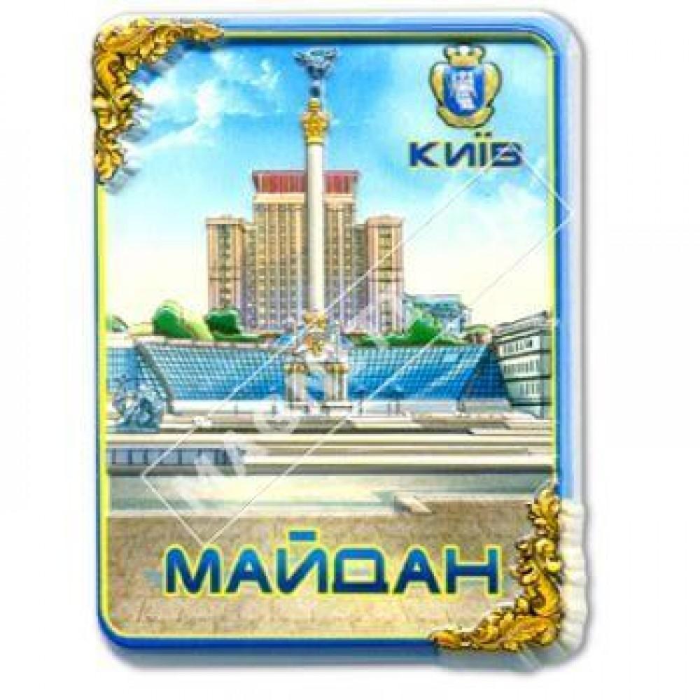 Керамічні магніти. Майдан Незалежності в Києві