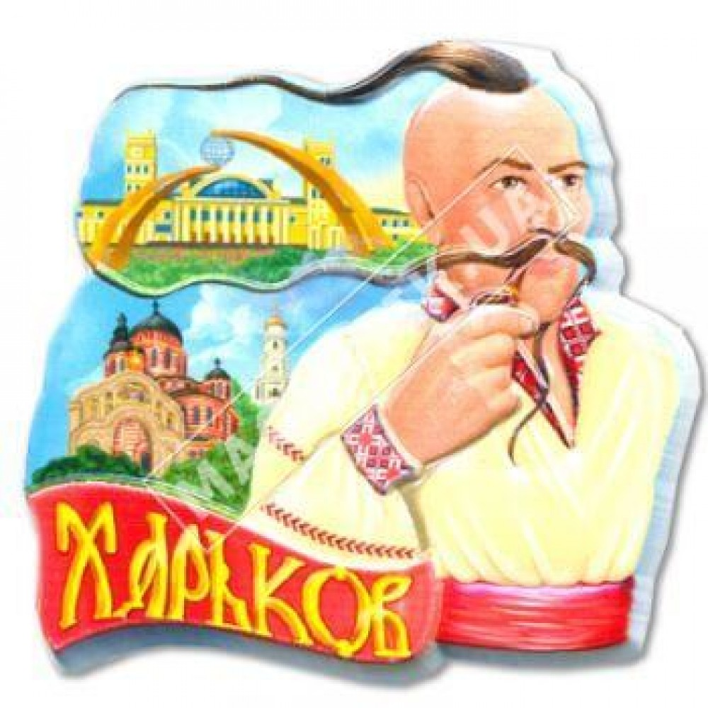 Керамічні магніти. Харків. Козак