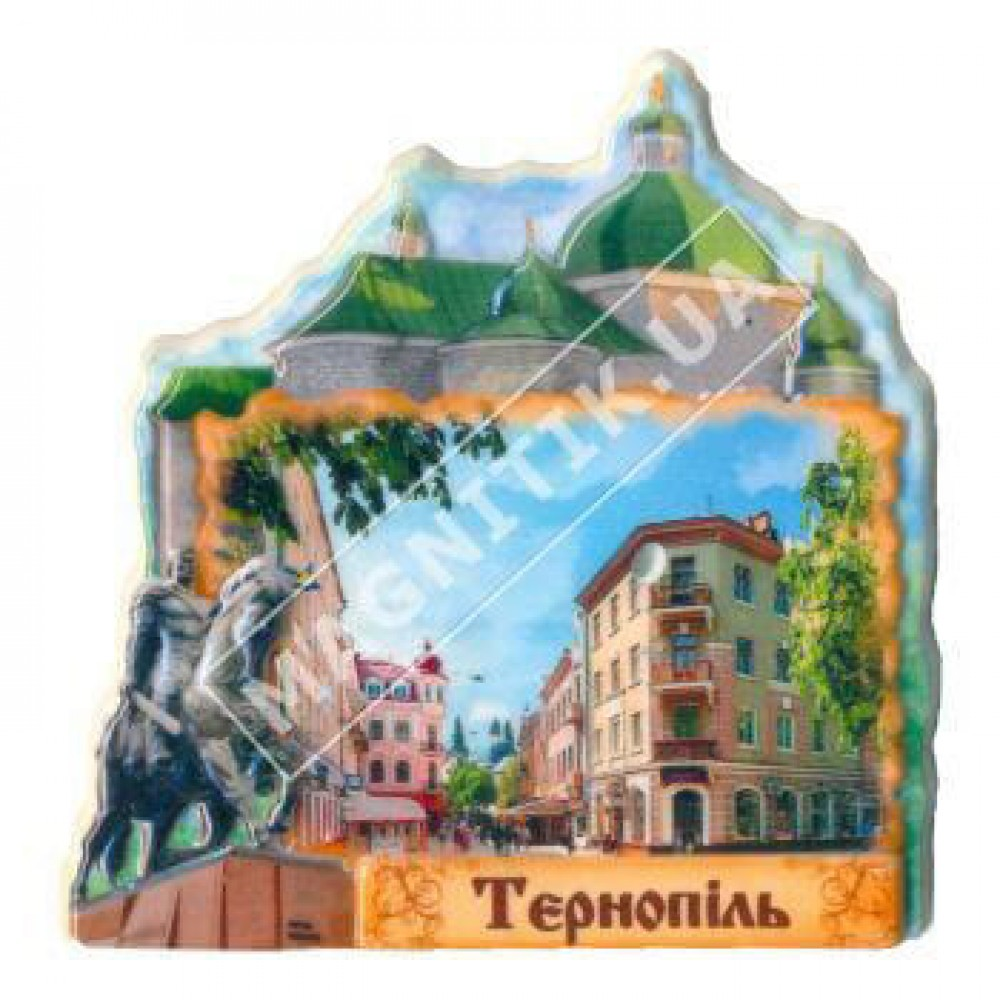 Керамические магниты. Город Тернополь