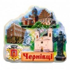 Керамічні магніти. Пам'ятки міста Чернівці