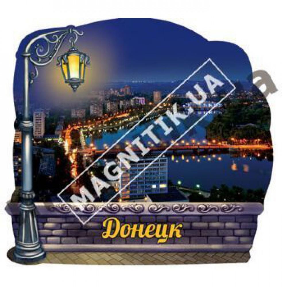 Керамічні магніти. Донецьк. Річка і міст