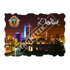 Керамічні магніти. Донецьк. Марка. Нічне місто