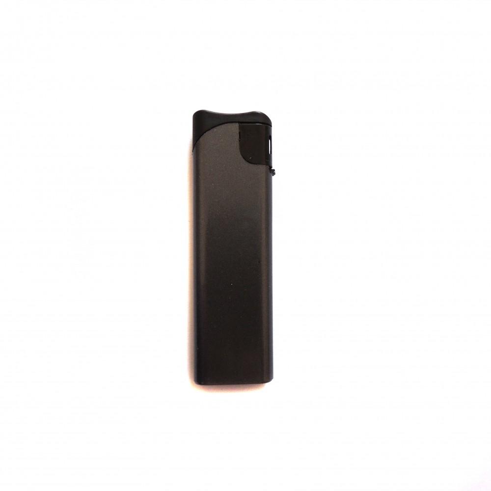 Сувенирная зажигалка черная под заказ односторонняя