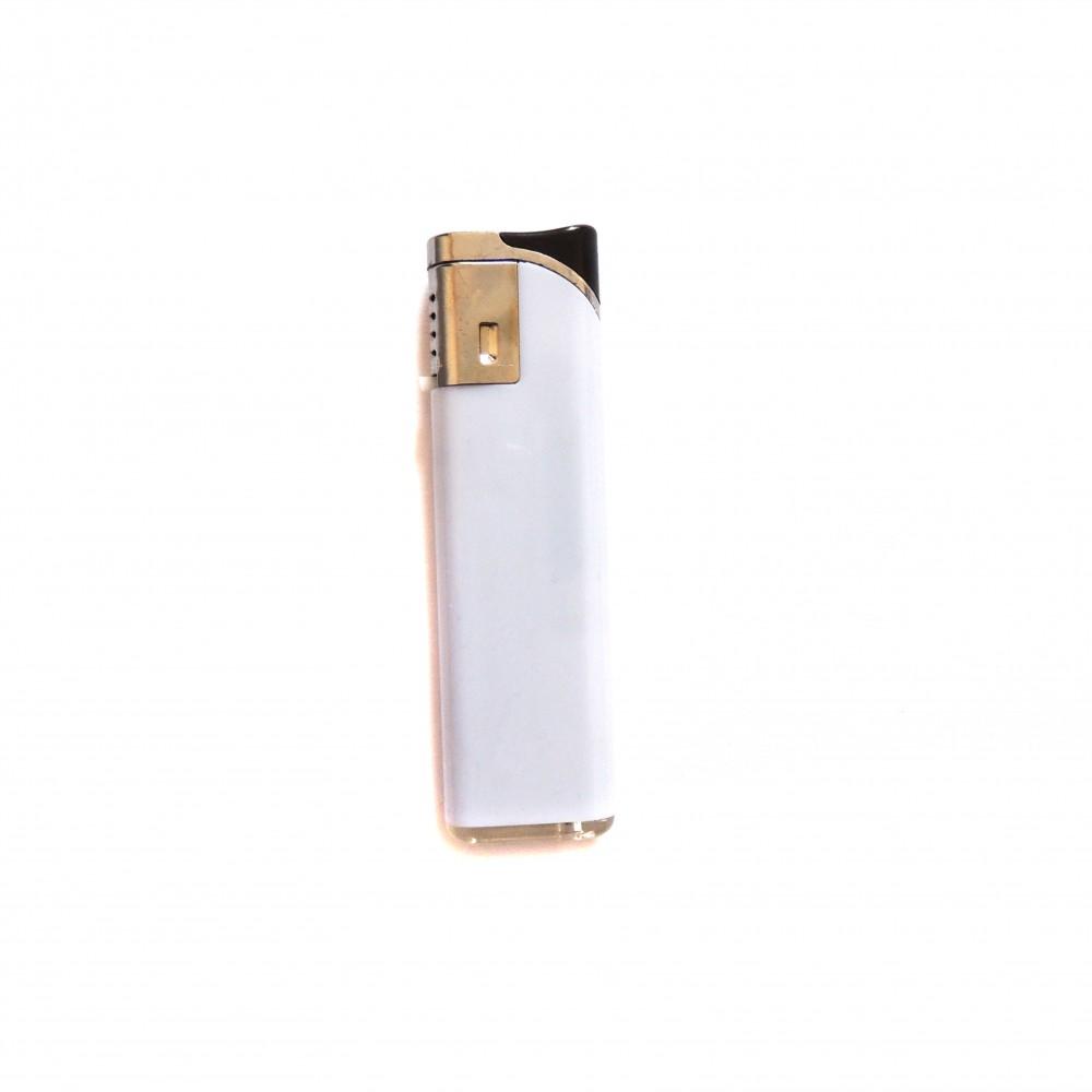 Сувенірна запальничка біла під замовлення двостороння