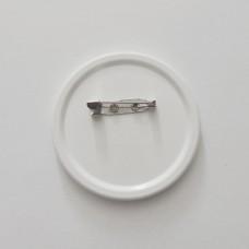 Поликерамический значок со своим дизайном 56 мм